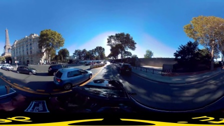 【得图F4】穿越巴黎铁塔 VR全景视频