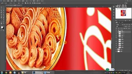 年货系列:日威丹麦风味曲奇饼干外包装修图