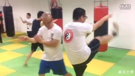 咏春拳冬季课堂腿法练习