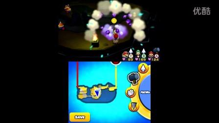 【雪激凌解说】3DS马里奥与路易RPG纸片 EP17:拉里#路德维格与三人纸飞机