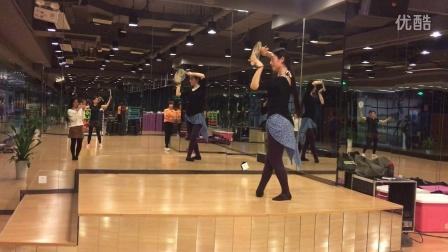 青花瓷 团扇舞 古典舞 镜面舞蹈