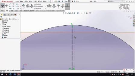 solidworks-钣金-怎么画圆锥钣金件
