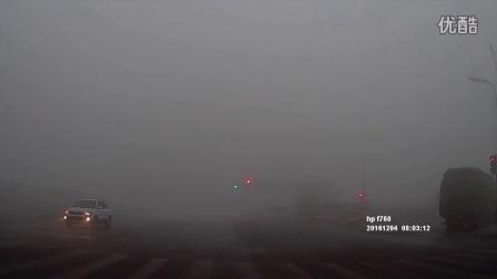 2016年12月4日成都大雾