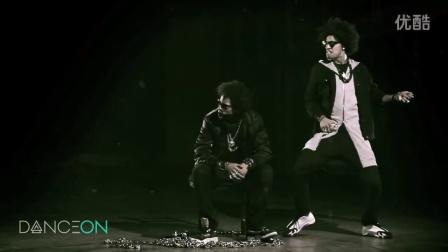 Les Twins 9 震撼街舞现场  双胞胎舞神 法国Newstyle HipHop Dancer