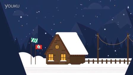 幽默冷笑话圣诞节电子贺卡祝福语片头视频PPT电子贺卡flash动画商务电子贺卡制作