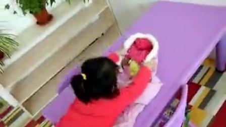 叠衣服特别快的王晨雨薇小朋友(20161207)
