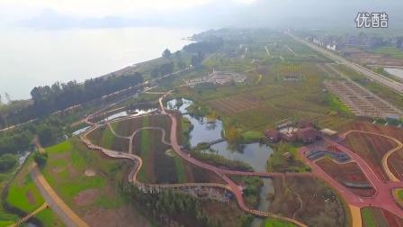 澄江县抚仙湖大河口湿地公园周边