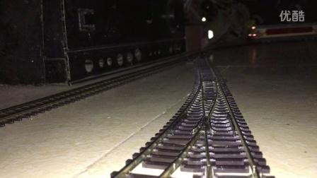 火车模型 花老虎DF4DK HO  牵引货列