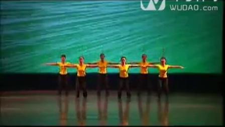 第四级7、识字歌__________(跳跃和胯的练习)-中舞网[wudao.com]