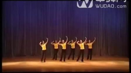 中国舞蹈家协会舞蹈考级教材(第三版)第八级哈密姑娘(维族舞)-320x240-中舞网[wudao.co