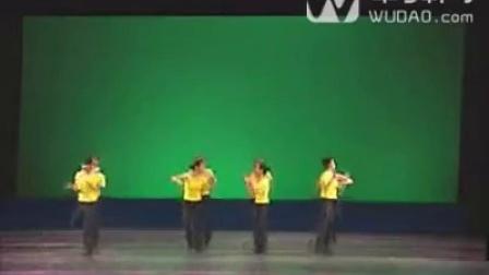 舞蹈家协会考级_第10级_08_单舞步大齐舞-中舞网[wudao.com]