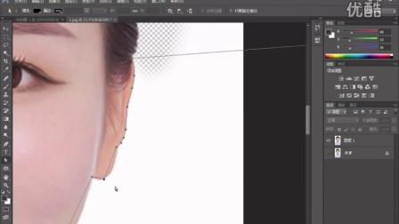 photoshop入门学习 ps培训 如何用ps抠图