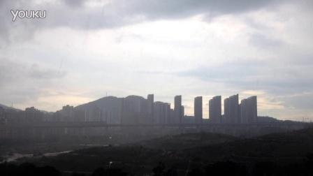 看深圳云卷云舒 狂暴的雨  延时摄影