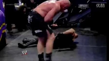 WWE摔角狂热大赛30!送葬者 VS 布洛克·莱斯纳 !结局震惊世界!_标清