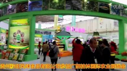汇特通公司代表黔旺风味食品去参加十一届桂林国际名优特农产品展销会视频