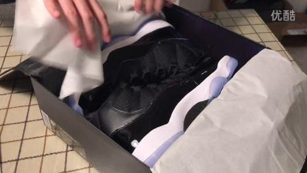 郭子陵全网首测Nike Air Jordan 11 Space Jam AJ11大灌篮 378037-003空中大灌篮魔王