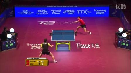 2016国际乒联总决赛 男单决赛 马龙 vs 樊振东