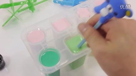 如何做 组装 香蕉草莓冰淇淋制作的色彩!烹饪过家家玩具 【 俊和他的玩具们 】