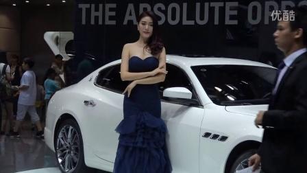 玛莎拉蒂气质典雅的车模