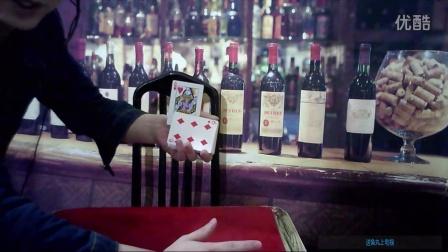 风哥魔术:高级单手变牌