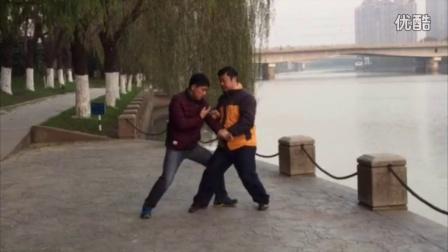 南京洪传陈式太极拳推手演练