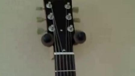 日本产JOCKOMO吉他贴纸 闪电图案指板贴纸配Gibson SG电吉他 真的很配