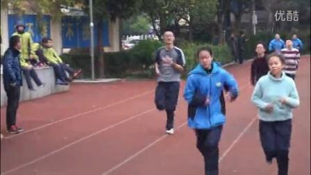 2016年慈溪市上林中学七、八年级长跑比赛