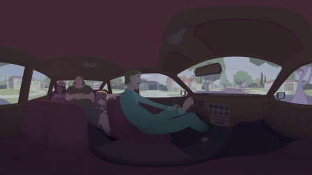 《车载歌行 Pearl》 第89届奥斯卡提名动画短片