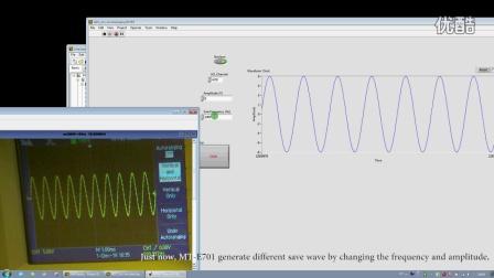 MT-ADC Acquisition sine wave