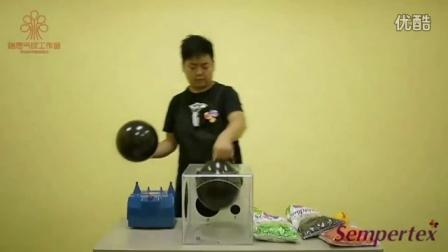 气球教程_气球造型教程兔子_人形魔术气球_单个气球造型教程