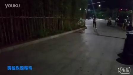 小C轮滑  2016凤凰塔刹车练习
