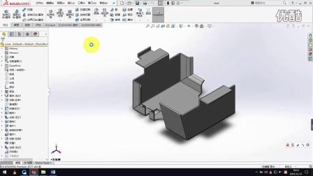 Solidworks-钣金焊件-模型(钣金)的壁厚怎样链接到工程图