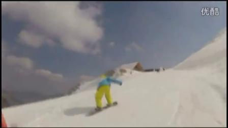 单板滑雪,公园滑雪-世界各大雪场乱滑系列