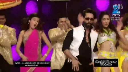 Shahid Kapoor Dance Performance At  Lux Golden Rose Awards