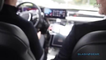 Lucid Motors Air纯电动汽车 - 自动驾驶演示