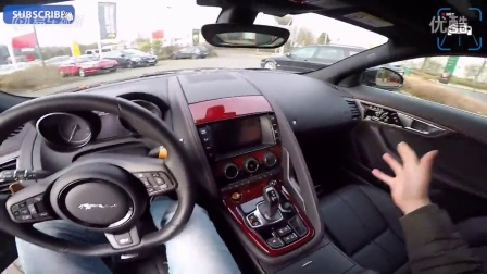 跑车型SUV 主视角试驾全新捷豹F-PACE