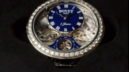 "BOVET播威 Lady BOVET Flower of Life腕表(为她戴上""生命之花"")"