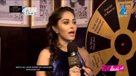 LUX Golden Rose Awards 18th red carpet Dec 2016 --hindi
