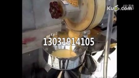 图木舒克东崛牌玉米面条机操作视频-杂粮玉米面条机ND4ZB