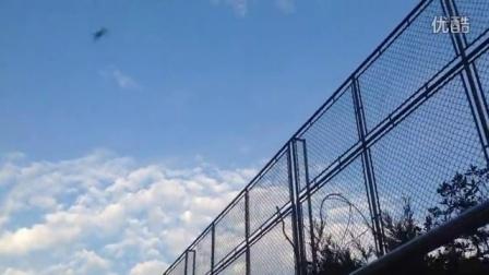 蓝天白云 久违了 风雨过后就是彩虹 雾霾过后就是蓝天白云