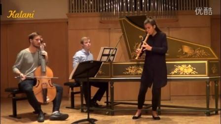 G.P. Telemann - Recorder Sonata in C major竖笛演奏