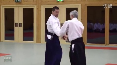 Aikido- Bruno Gonzalez working on Tachidori (1)