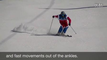 爱滑雪找钢蛋-双板滑雪教程-卡宾小回转动作分解