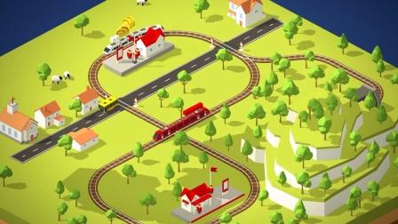 小火车运乘客!托马斯和他的朋友们儿童益智游戏!