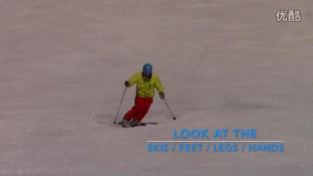 爱滑雪找钢蛋-双板滑雪动作分解-黑道滑雪动作处理