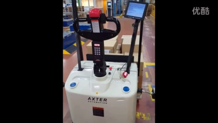 Axter - AGV launch自动导航车启动