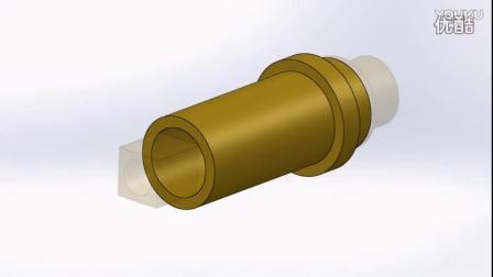 自制一台镂空台钟 第十六集 齿轮与指针调节_超清
