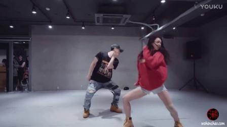[我很潮] 韩国1m舞室 曲名luv Tory Lanez 身材超棒urban女神mina myoung & Eunho Kim