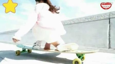 滑板少女,杨洋,帅气,优雅,漂亮