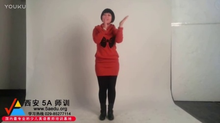 5A少儿英语教师培训课程视频之韵律教学_weather